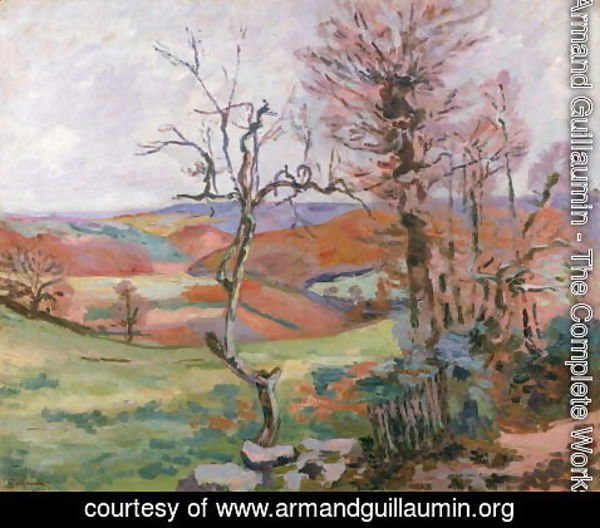 Armand Guillaumin - The Puy Barion at Crozant, Brittany
