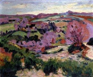 Armand Guillaumin - Valley of the Sedelle, 1916
