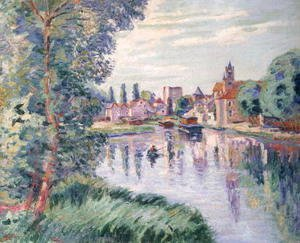 Armand Guillaumin - The Old Samois, c.1900