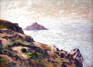 Armand Guillaumin - Coast of the Val Andre, c.1907