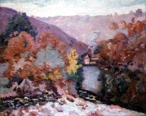 Landscape at La Creuse, Brittany, c.1910