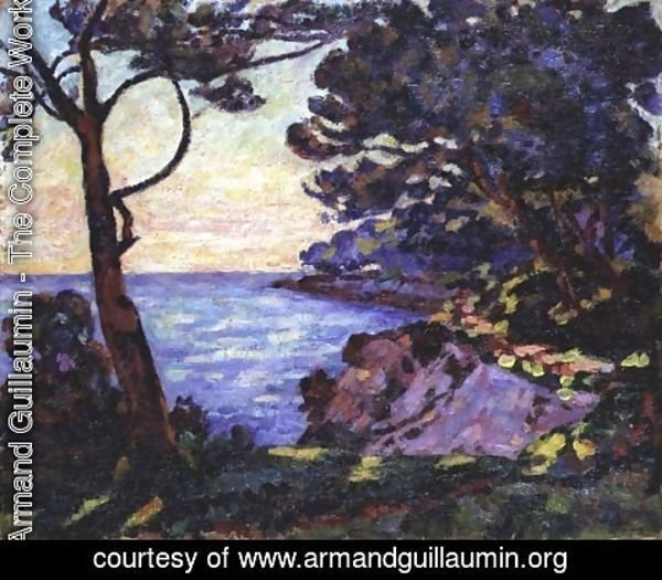 Armand Guillaumin - The Coast from l'Esterel, c.1902