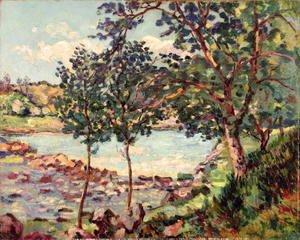 Armand Guillaumin - Landscape with a Lake