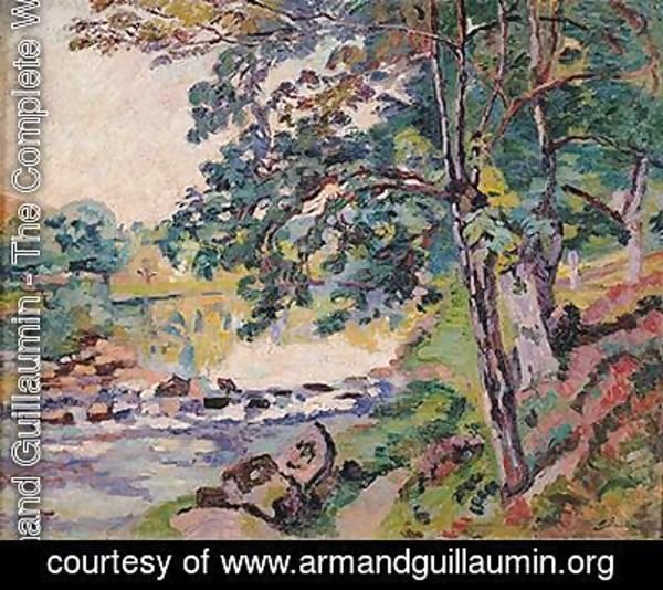 Armand Guillaumin - The Creuse at Genetin