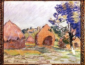 Armand Guillaumin - Haystacks at Saint-Cheron