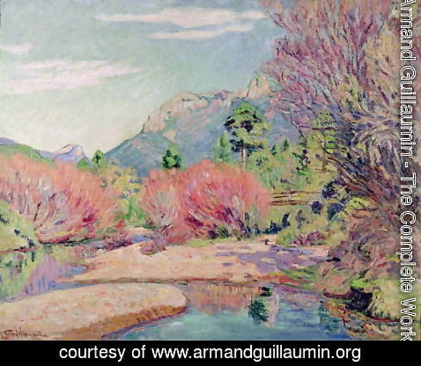 Armand Guillaumin - The Banks of the Sedelle at Crozant