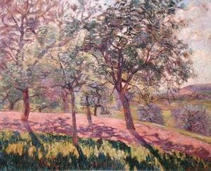 Armand Guillaumin - The Region of Saint Cheron, Springtime, c.1886