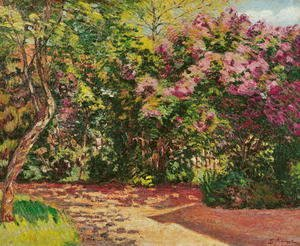 Armand Guillaumin - Lilac, the Artist's Garden