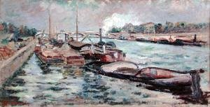 Armand Guillaumin - The Seine, 1867-68