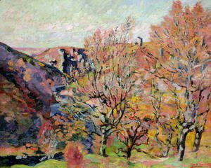 Armand Guillaumin - The Valley of the Sedelle in Crozant, c.1898