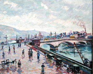 Armand Guillaumin - The Seine at Rouen
