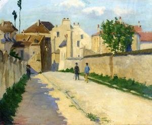 Armand Guillaumin - Rue de Clamart at Vanves, c.1873