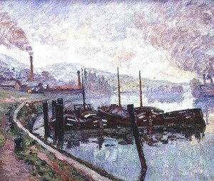 Armand Guillaumin - Coal Barges