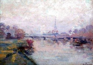 Armand Guillaumin - The Seine at Paris