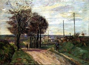 Armand Guillaumin - The Outskirts of Paris, c.1881