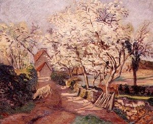 Armand Guillaumin - Plum Trees in Blossom