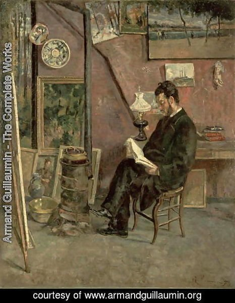 Armand Guillaumin - Portrait of Doctor Martinez, 1878