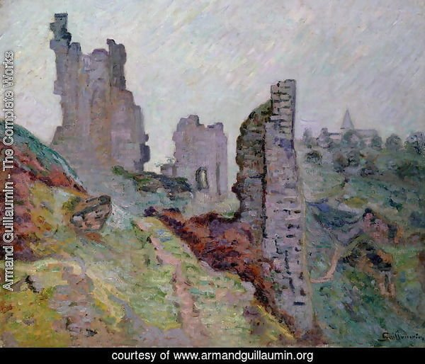 Ruins in the Fog at Crozant, 1894
