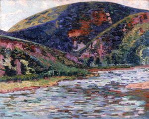 Armand Guillaumin - The Creuse in Summertime, 1895