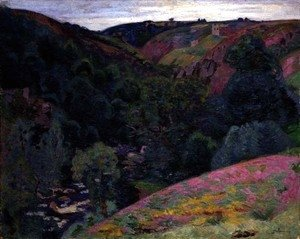 Armand Guillaumin - The Valley of the Sedelle, 1897