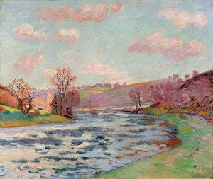 Armand Guillaumin - Banks of the Creuse, Limousin, c.1912