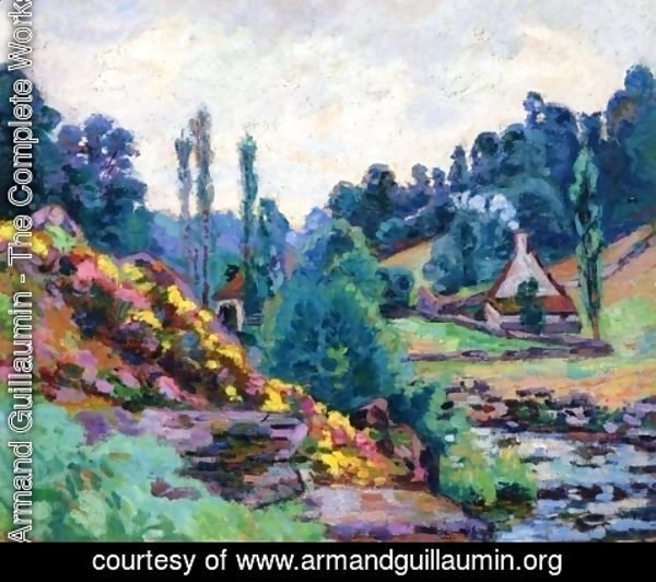 Armand Guillaumin - Le Moulin de Jonon Creuse