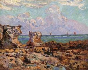 Armand Guillaumin - Low Tide at Saint-Palais-la-Pierriere