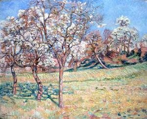 Armand Guillaumin - Apple Trees at Damiette