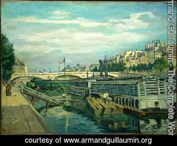 Armand Guillaumin - The Bridge of Louis Philippe
