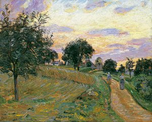 Armand Guillaumin - The Road of Damiette