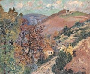 Armand Guillaumin - Mountain Landscape - Pontgibaud