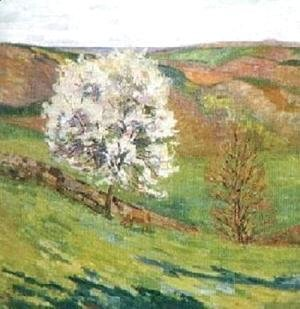 Armand Guillaumin - Trees in Blossomat Saint Cheron