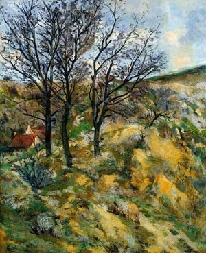 Armand Guillaumin - Landscape with Red Roofs