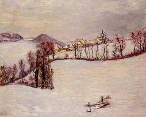 Armand Guillaumin - Sanit-Sauves in the Snow