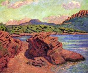 Armand Guillaumin - The Bay of Agay 2