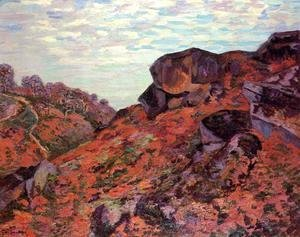 Armand Guillaumin - Crozant the Sedelle Heights Morning 1895