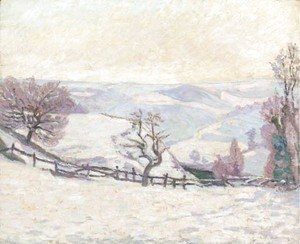 Armand Guillaumin - Gelee blanche au Puy Barriou, Crozant
