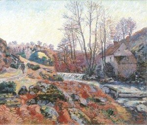 Armand Guillaumin - La Moulin Bouchardon a Crozant