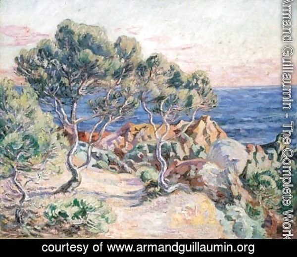 Armand Guillaumin - Les rochers a Agay
