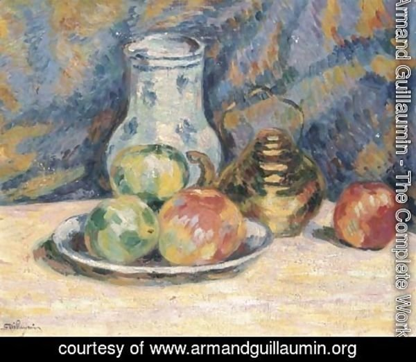 Armand Guillaumin - Nature morte (pommes)