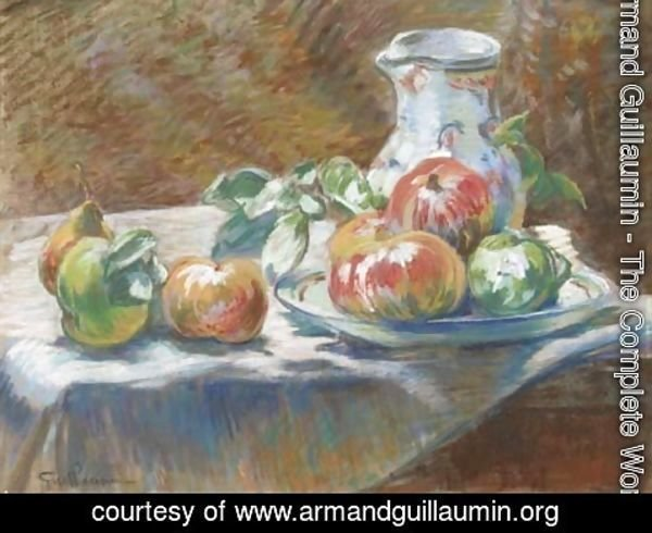 Armand Guillaumin - Nature morte aux fruits