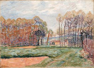 Armand Guillaumin - Paysage d'Automne