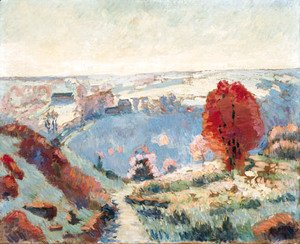 Armand Guillaumin - Paysage d'automne 2