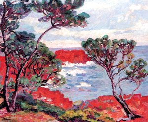 Armand Guillaumin - Agay, Les Rochers Rouges