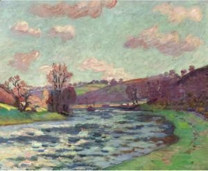 Armand Guillaumin - Bords De La Creuse (Barrage De Genetin)