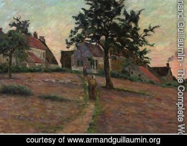 Armand Guillaumin - Chemin A Damiette, Soleil Couchant