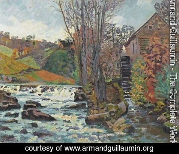 Armand Guillaumin - Le Moulin Bouchardon A Crozant