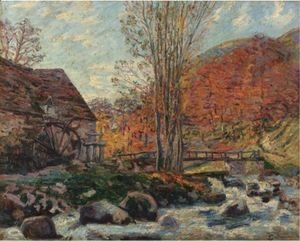 Armand Guillaumin - Le Moulin Brigand