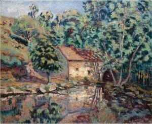 Armand Guillaumin - Moulin Bouchardon, Crozant
