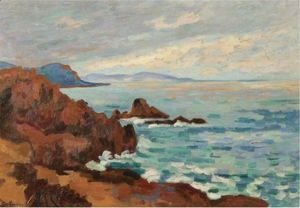 Armand Guillaumin - Soleil Couchant, Le Trayas-Agay